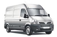 Transportbil Nissan Interstar