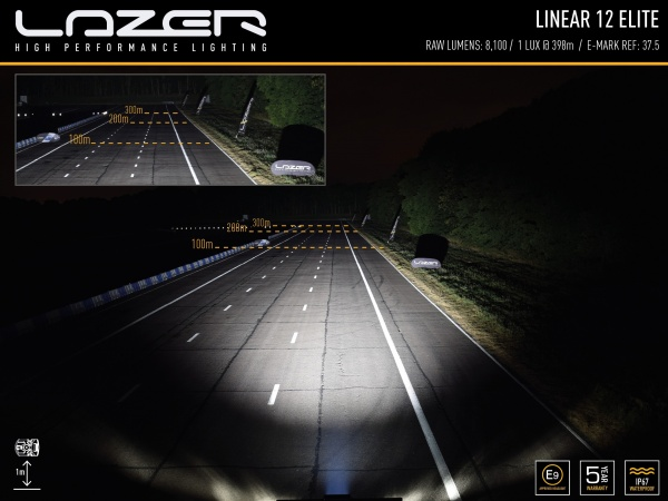 Belysning Lazerlamp Linear 12 Elite