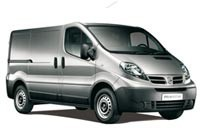 Transportbil Nissan Primastar