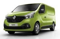 Transportbil Renault Trafic 14-